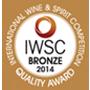 IWSC Bronze 2014