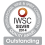 IWSC Silver Outstanding Medal 2014