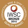 IWSC Bronze 2015 Winner