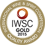 IWSC Gold Medal 2015