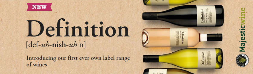 Top Wines From Majestic's Definition Range - Angela Mount