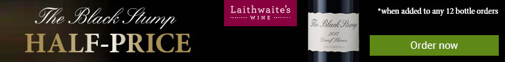 Laithwaites Black Stump Half-Price