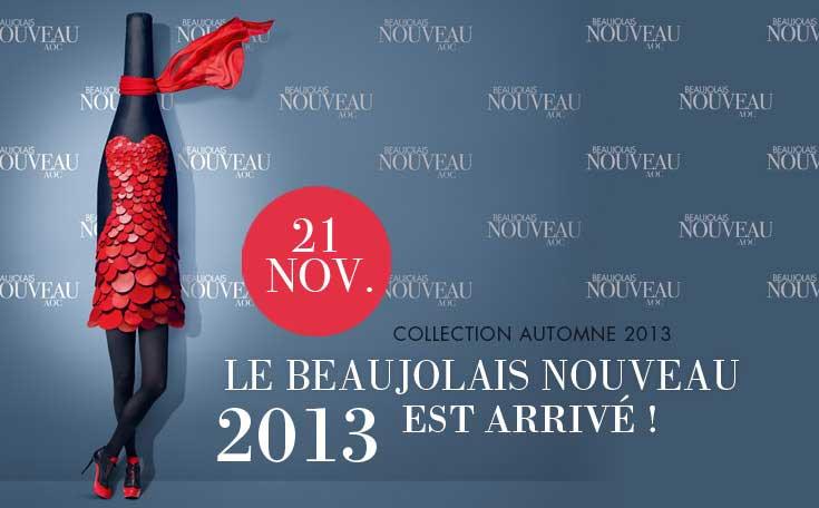 Beaujolais Nouveau 2013 Dress