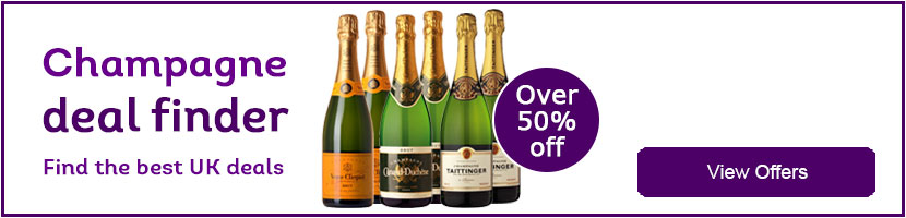 Half price champagne