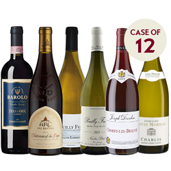 Christmas Fine Wines Case