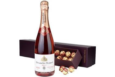 Waitrose Pink Champagne Truffles