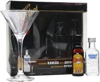 Absolut Expresso Martini Gift Set
