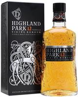 Highland Park 12 Year Old Island Single Malt Scotc...