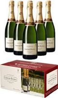 Laurent Perrier Brut NV Party Case with Glasses