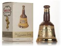 Bells Blended Scotch Whisky Decanter (18.75cl) - 1...