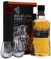 Highland Park 12 Year Old / 2 Glass Pack Island Wh...