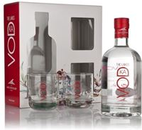 The Lakes Vodka Gift Pack With 2 Glasses Plain Vod...