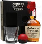 Maker's Mark Gift Pack With Glass & Ice Mould Kent...