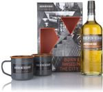 Auchentoshan American Oak Gift Pack with 2x C...