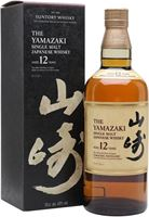 Suntory Yamazaki 12 Year Old Japanese Single Malt ...